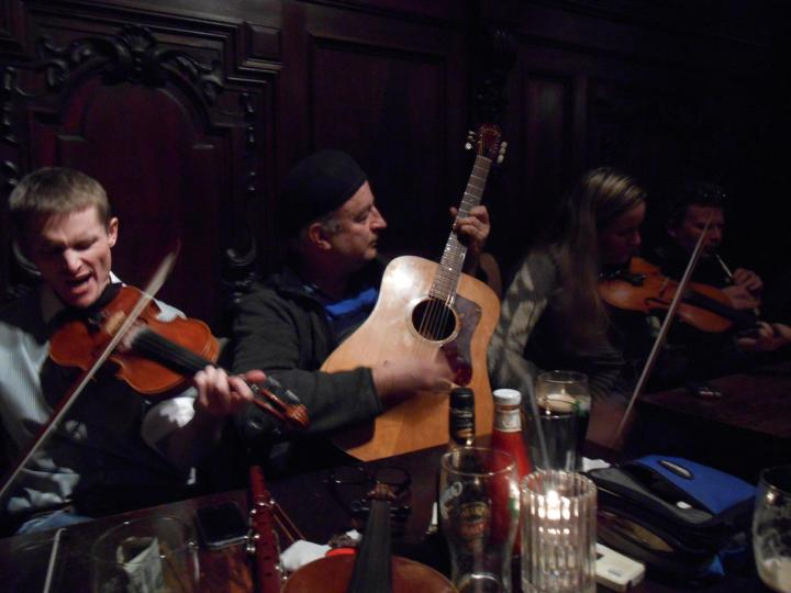Irish Session at Fergie's Pub, Sansom Street, Philadelphia, PA